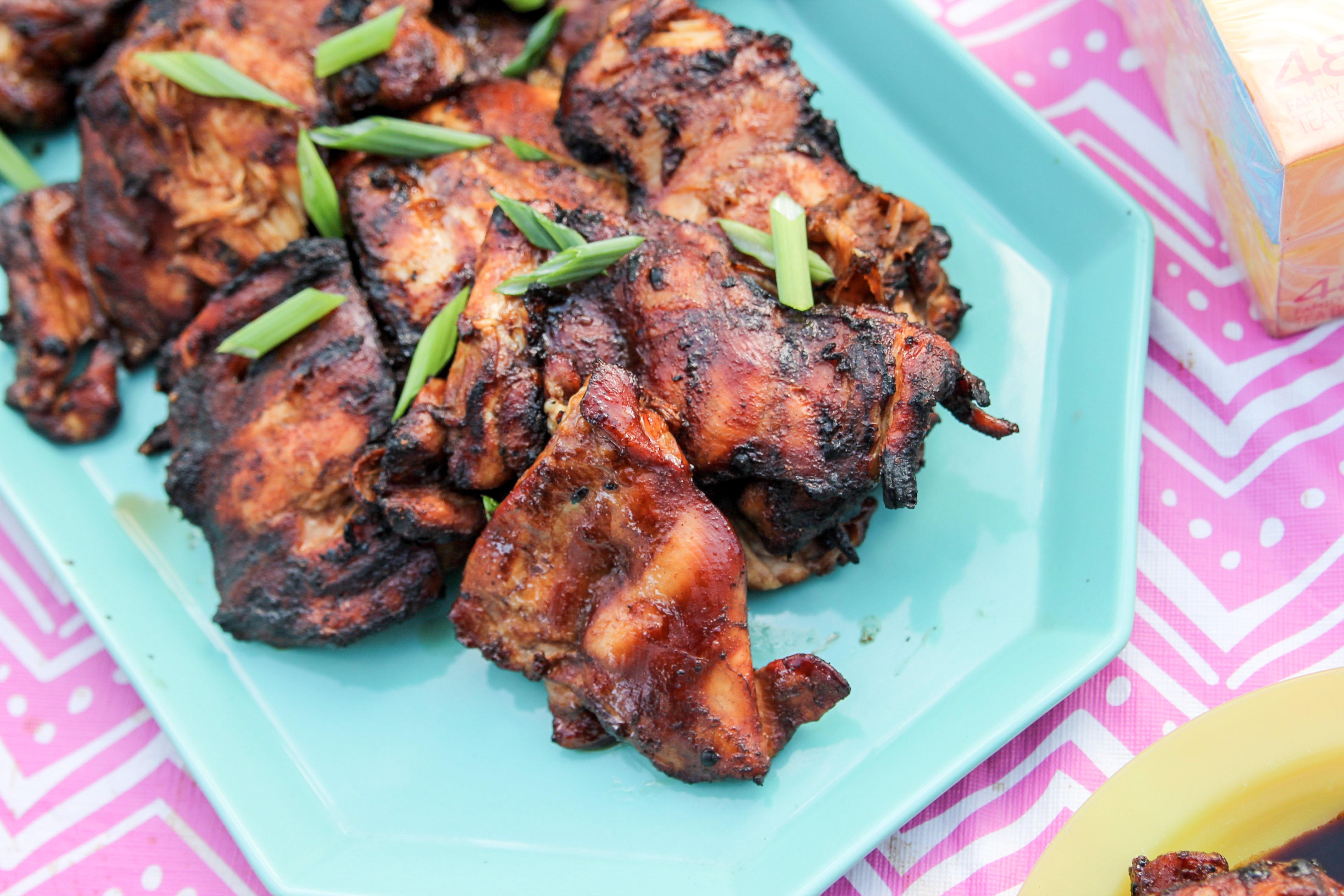 Summer Dinner Twist – Mango Iced Tea & Hawaiian BBQ Chicken