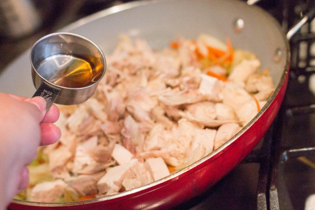 Quick & Easy Chicken Chow Mein