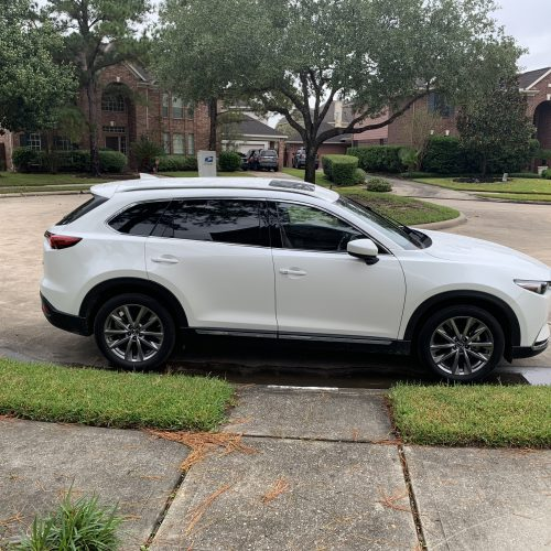 A review on the Mazda CX-9 and a trip to Crystal Beach