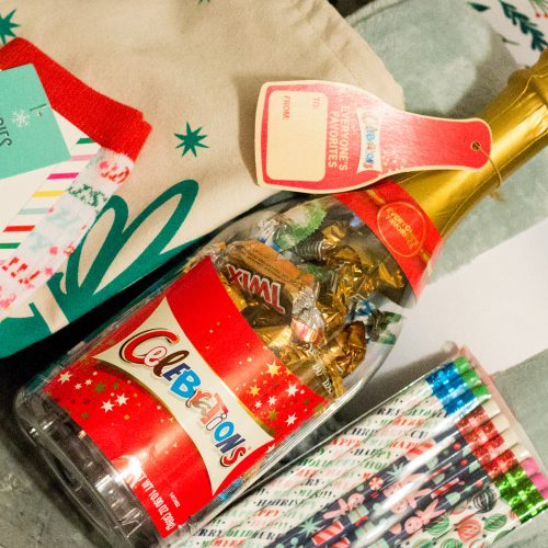 Create a Celebrate & Relax Teachers Gift