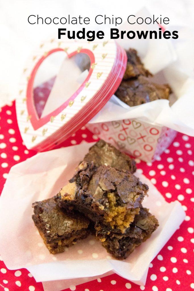 Chocolate Chip Cookie Fudge Brownies