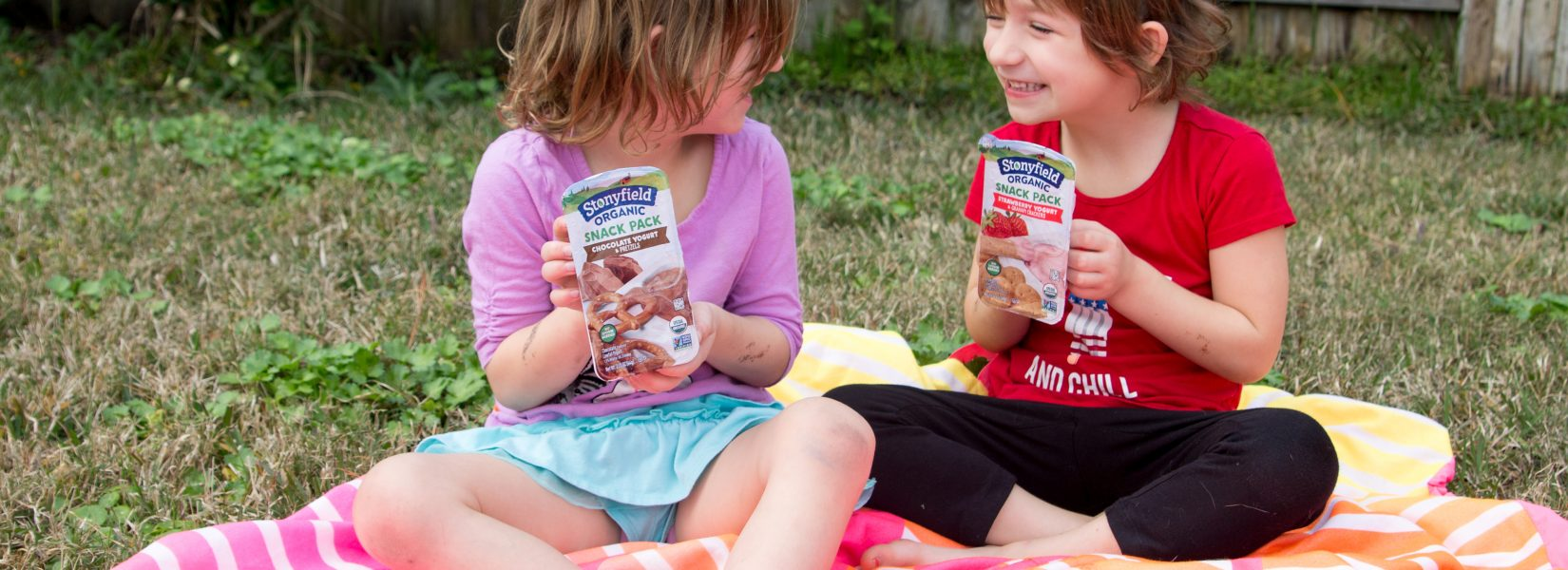 A Snack-Nic with Stonyfield