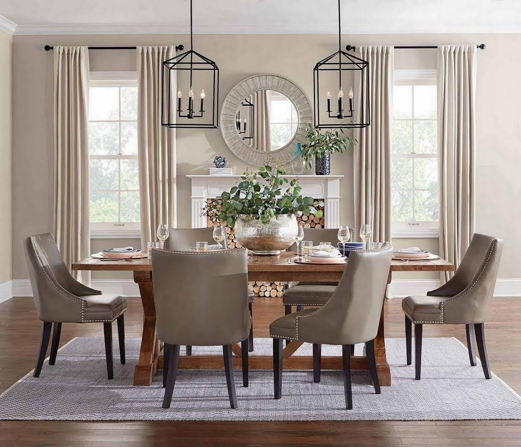 Create A Classic Dining Room Look With Home Depot Decor