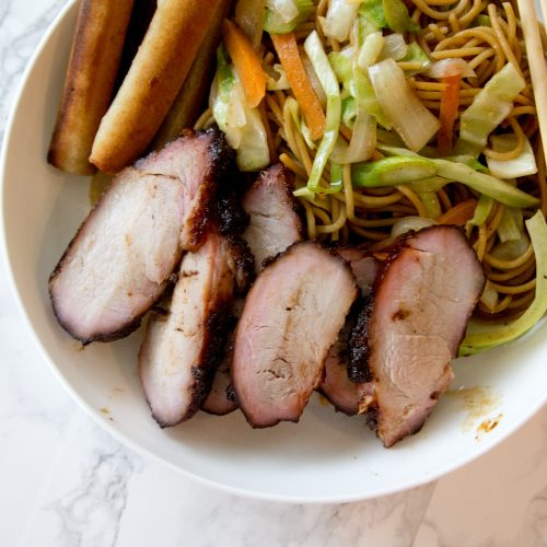 Sweet & Sticky Chinese BBQ Pork (Char Siu)