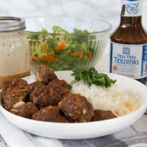 Easy Teriyaki Meatballs