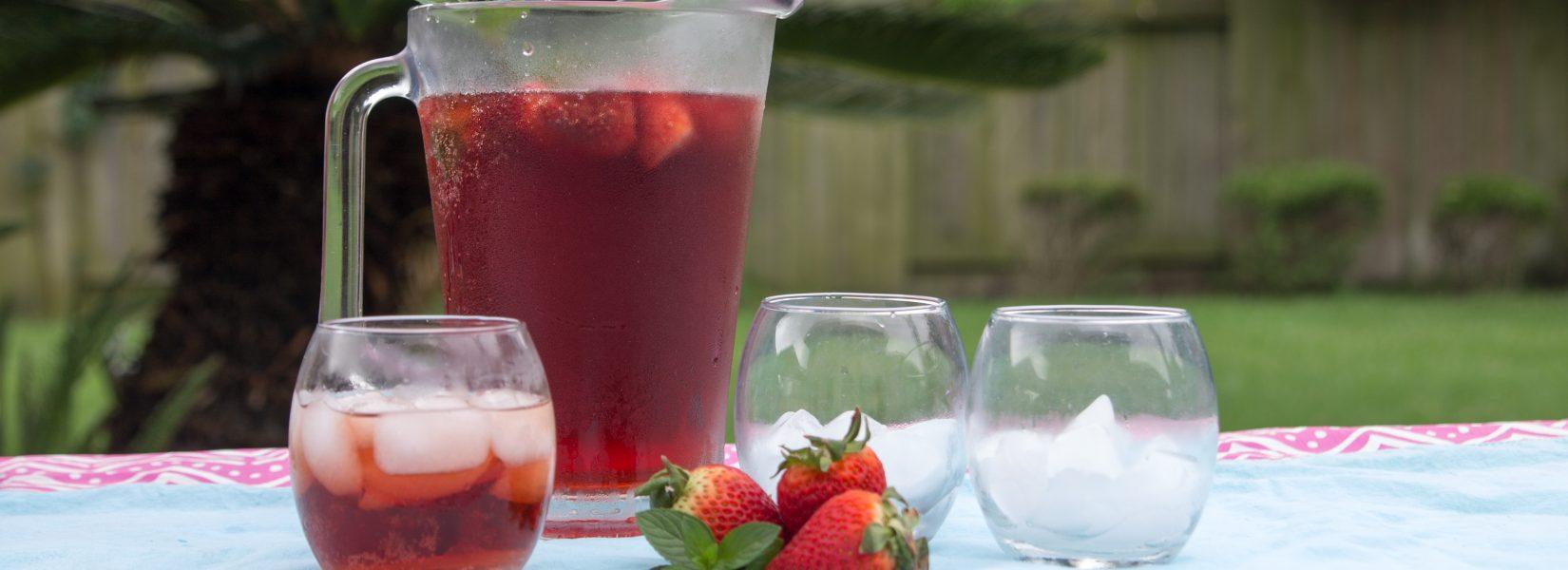 Sparkling Ginger Berry Tea
