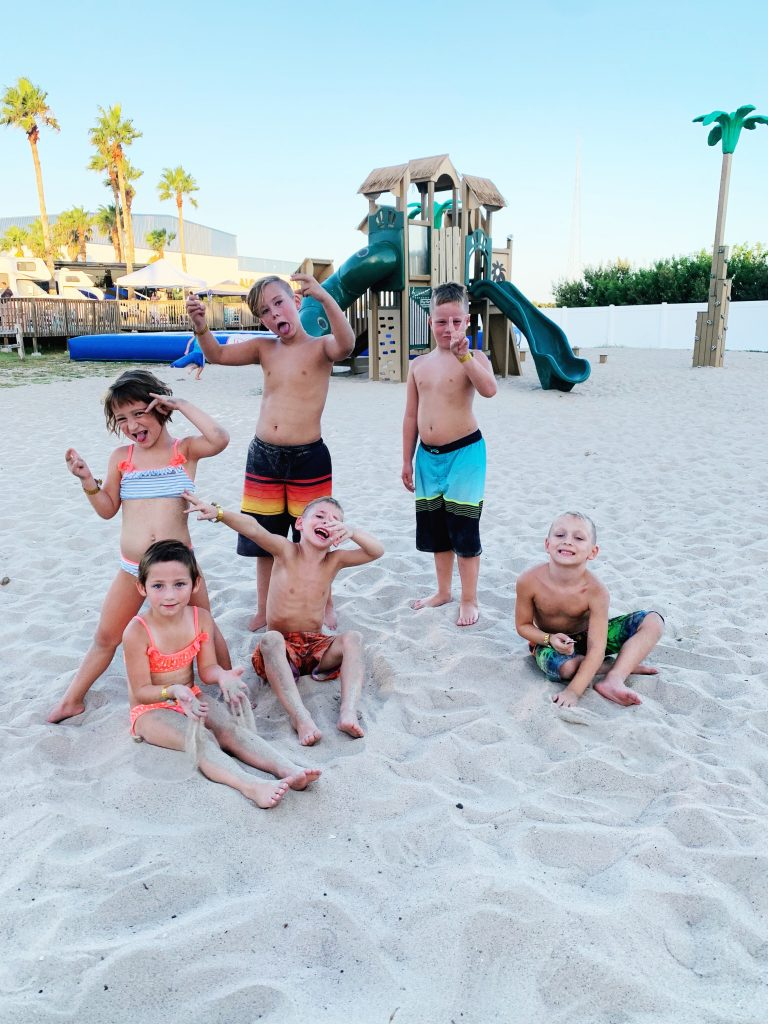 Family Vacation at KOA Holiday South Padre Island