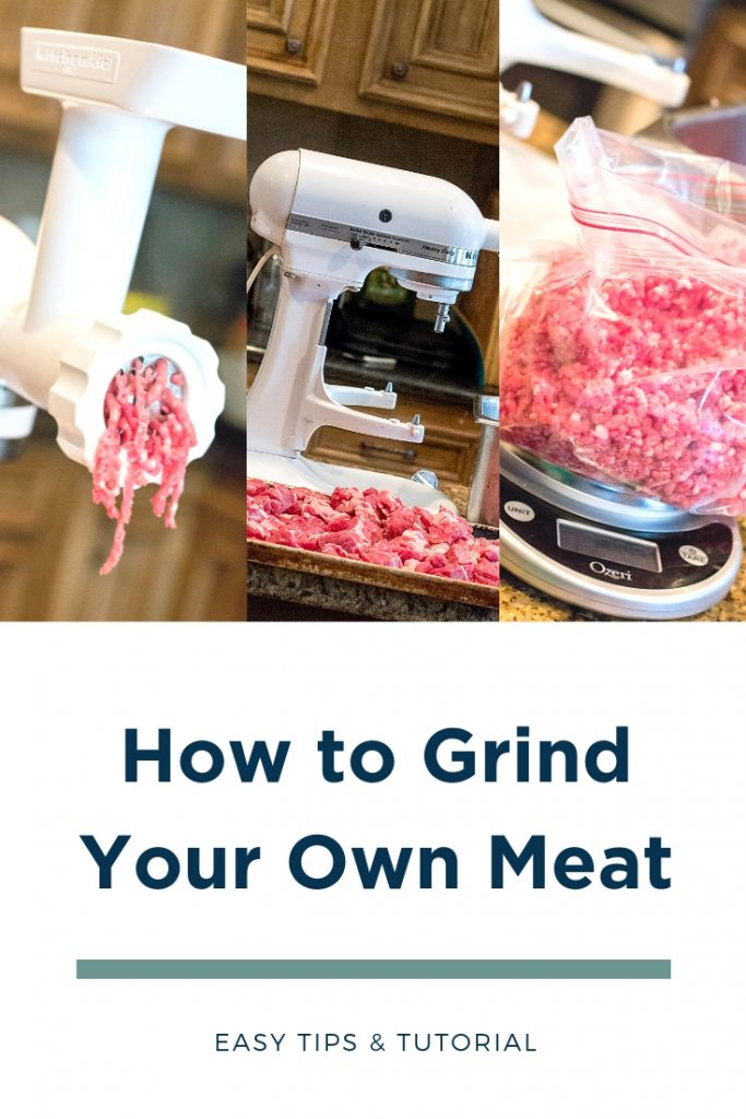 How to grind meat into sausage