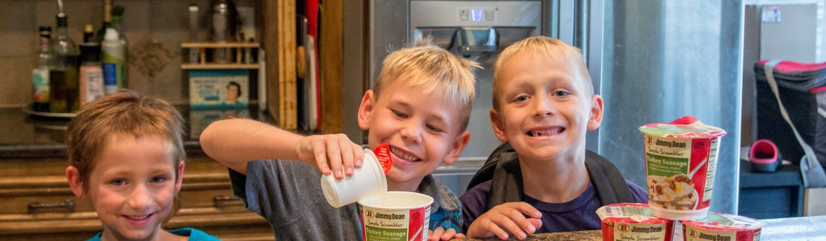 Empowering your family to have a great morning with Jimmy Dean & a simple routine