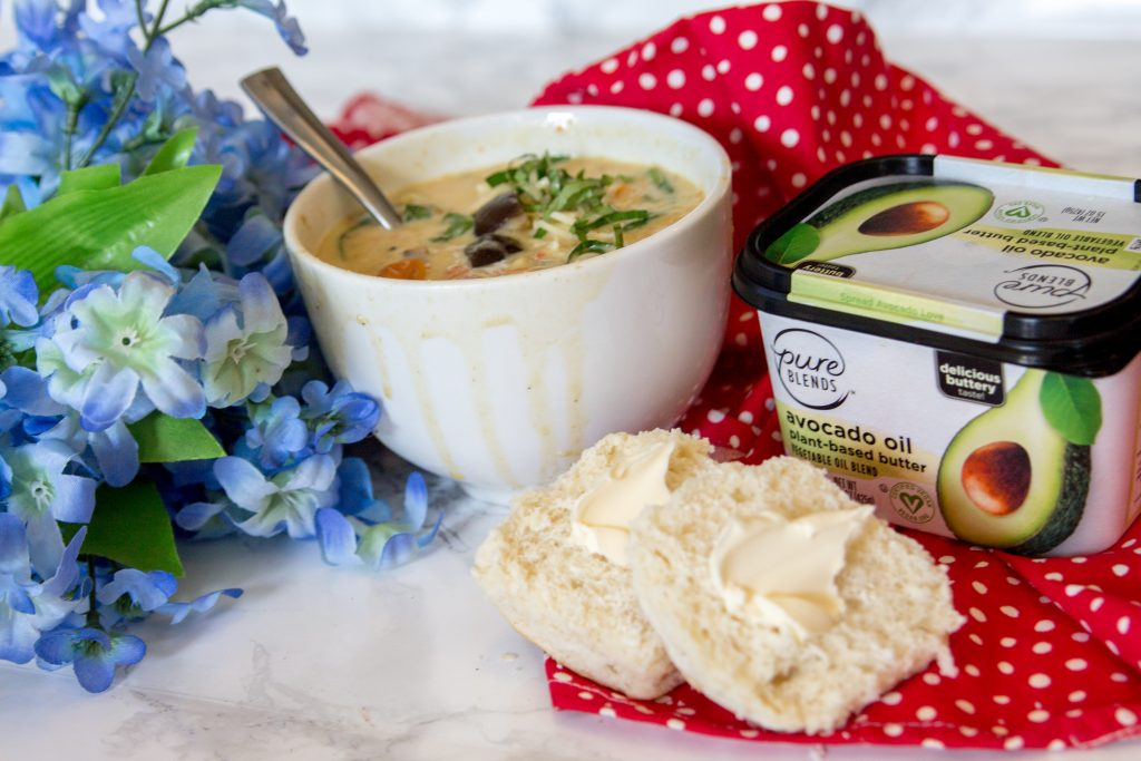 Creamy Parmesan Roasted Veggie Soup-3