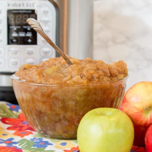 Quick & Easy Instant Pot Cinnamon Apple Sauce