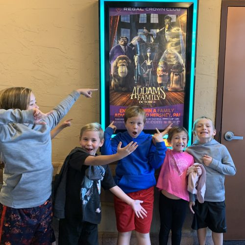 Family Fun at the Addams Family Movie