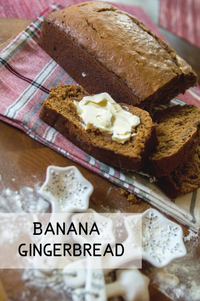 Banana Gingerbread