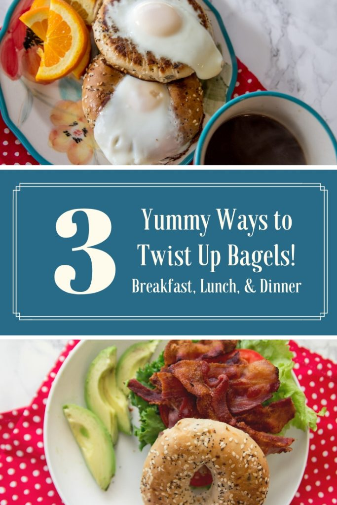3 yummy ways to twist up bagel sandwiches