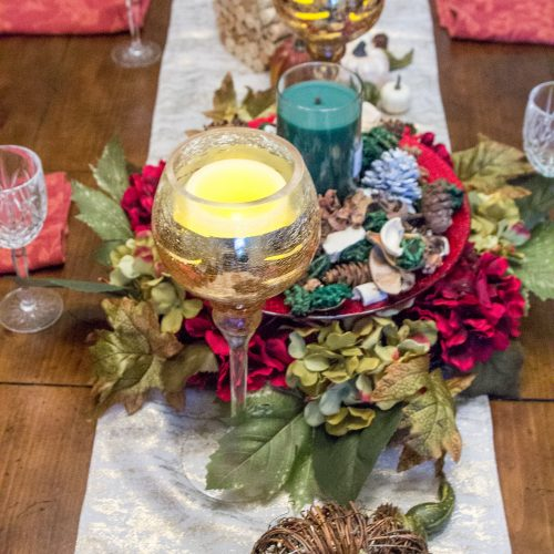 Easy & Affordable Thanksgiving Tablescape