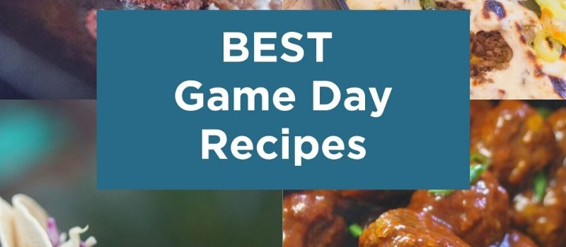 Round Up of the Best Game Day Recipes