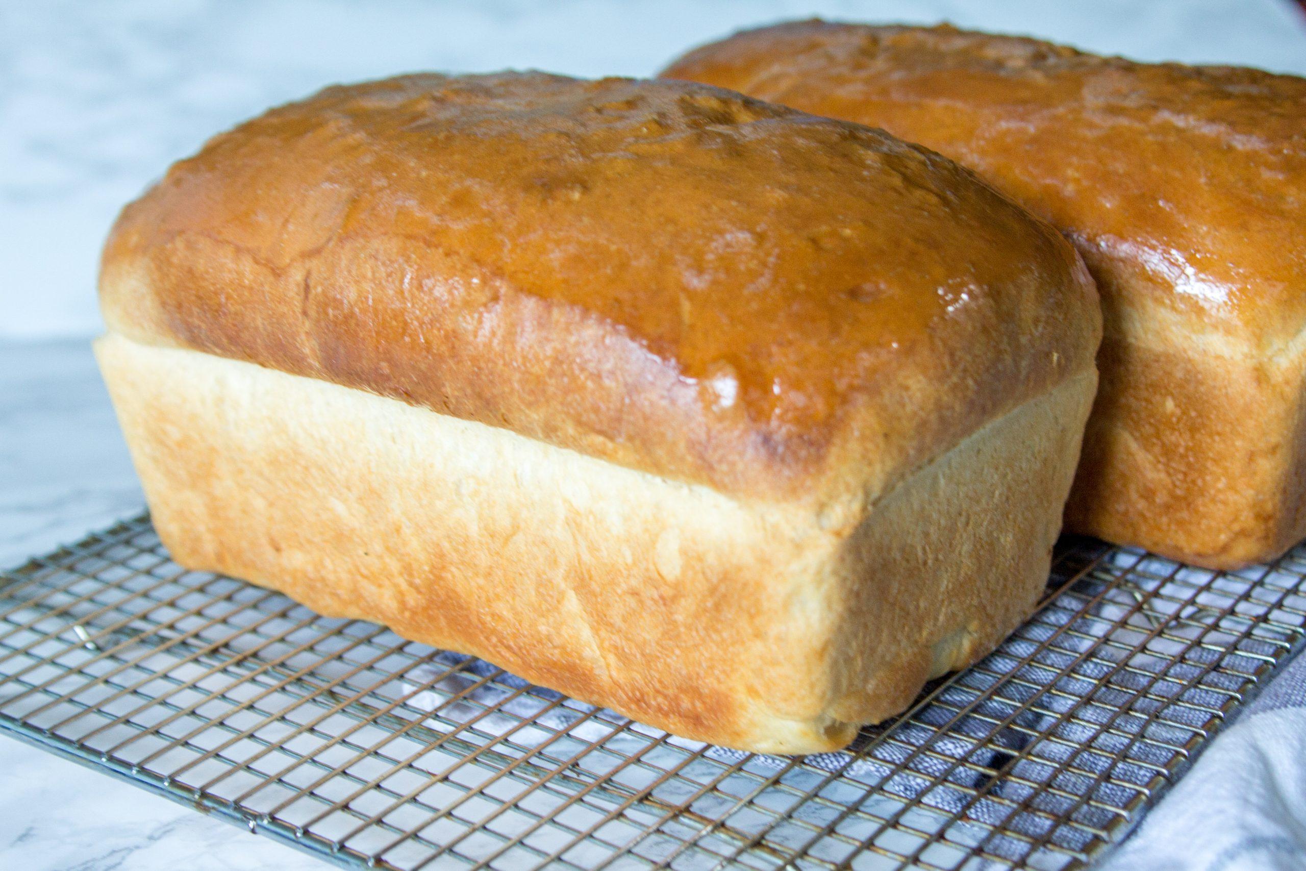 Easy Homemade White Bread
