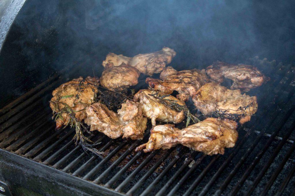 Rosemary Balsamic Vinegar Grilled Chicken