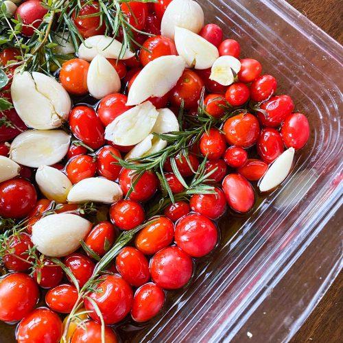 Tomato Confit – Roasted Tomatoes & Garlic